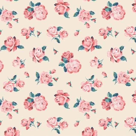 Liberty Fabrics The Emporium Collection - Regent Rose in Pink