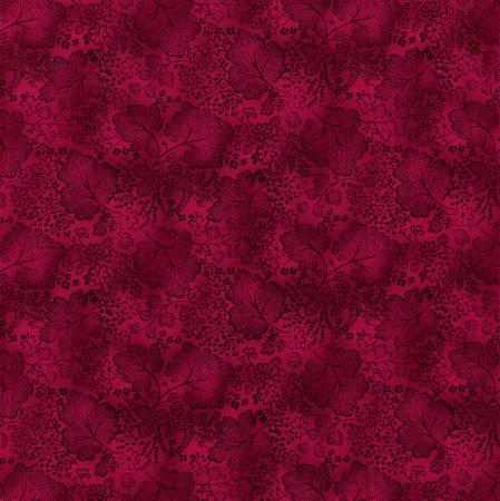 RJR Jinny Beyer Color Palette #144 Magenta Leaf