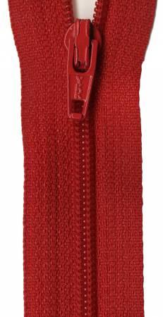 Jumpsuit Zipper 22in Red 0522-519