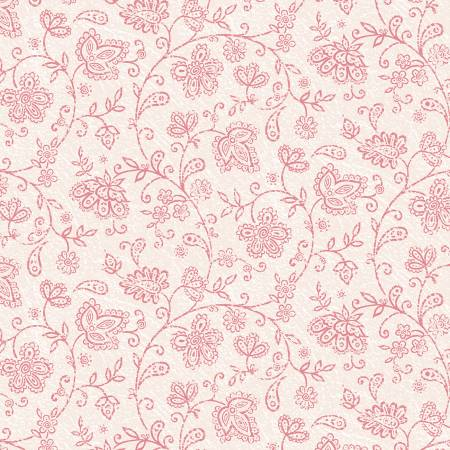 Soulful Paisley Floral Light Pink Soulful Shades of Pink
