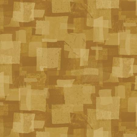 Scrap Squares in Gold