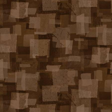 Scrap Squares in Chocolate