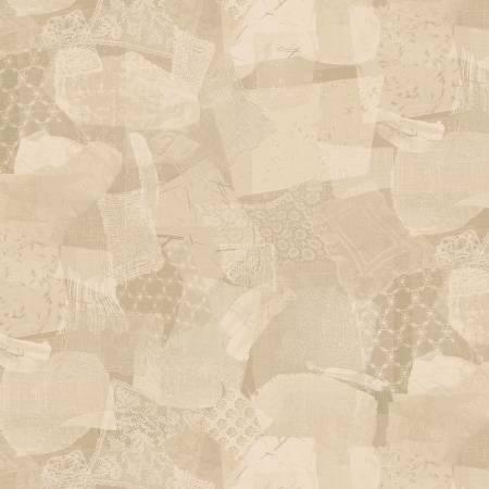 Scrap Lace in Tan