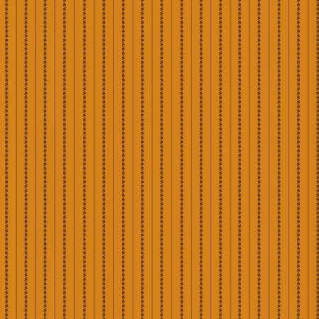 Fabric - Orange Little Lines
