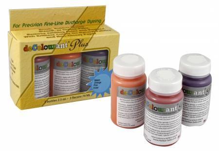 deColourant Plus Dye Set 3 pack Metallic