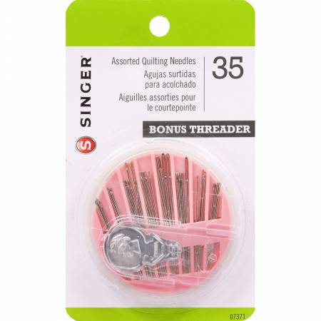 Assorted Quilting Needles 35pc