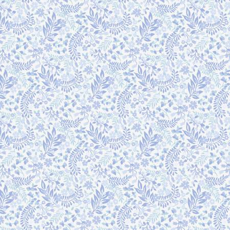 SPECIALTY FABRICS ROOM:  White Calico: Celeste by Nancy Rink Designs for Marcus Fabrics