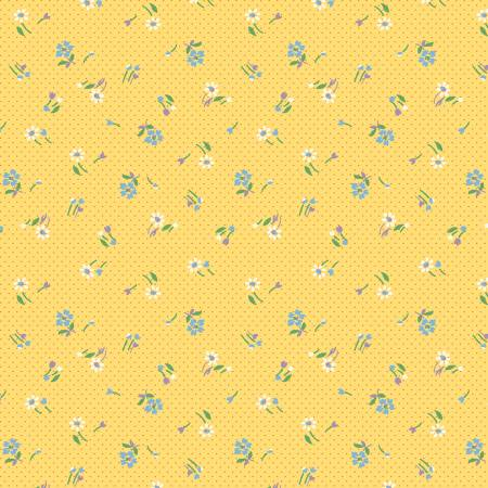 Aunt Grace's Apron - Mini Meadow #0759 by Judie Rothermel (1930's Reproduction) / Marcus Fabrics
