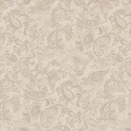 Neutral Main Paisley - Paisley Palette by  Marcus Fabrics