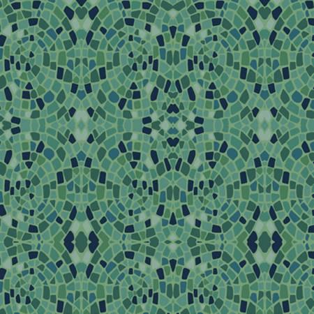 Dance at Dusk - Green Mosaics