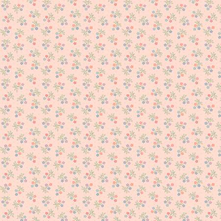 Peach Mae Calico Flowers
