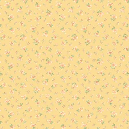 Yellow Belle Calico Flowers