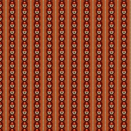 Rust Oval Stripe 0914 0157