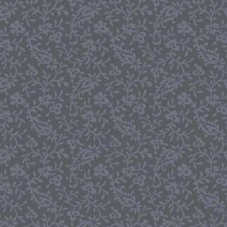 Grey Paisley