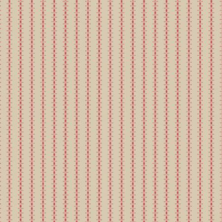Little Companion Shirtings - Cream Stripe