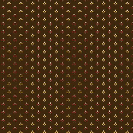 Brown Triple Diamonds