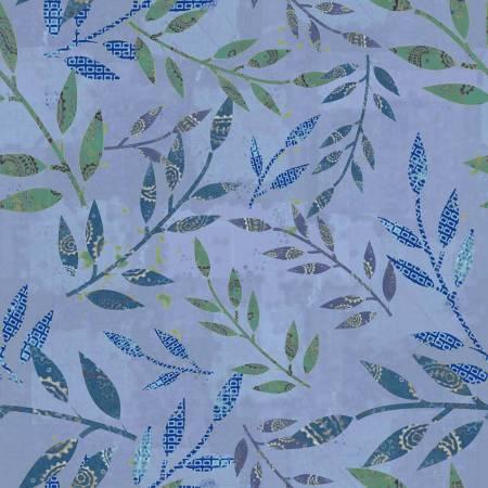 Marcus Las Flores Blue leaves - R150982-0150