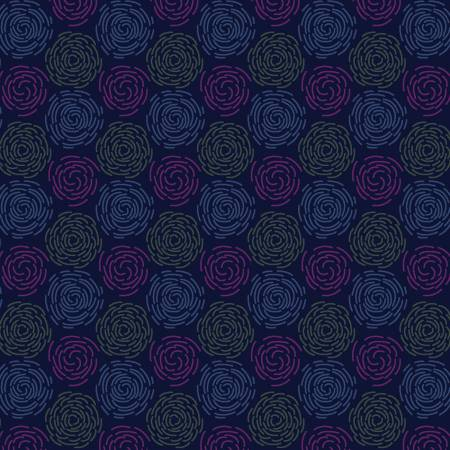 Marcus Las Flores Blue Swirls - R150984-0110