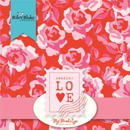Sending Love 10in Squares, 42pcs, 3 bundles/pack