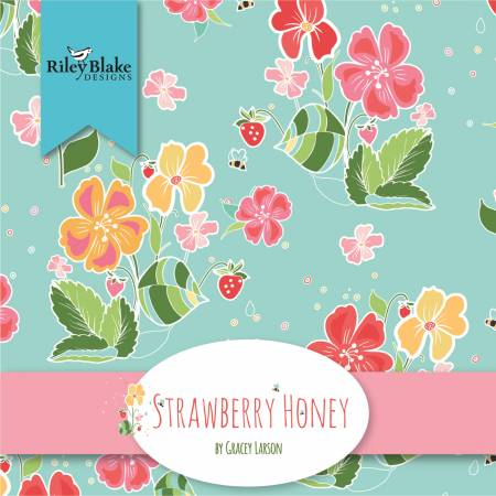 Strawberry Honey 10in Squares