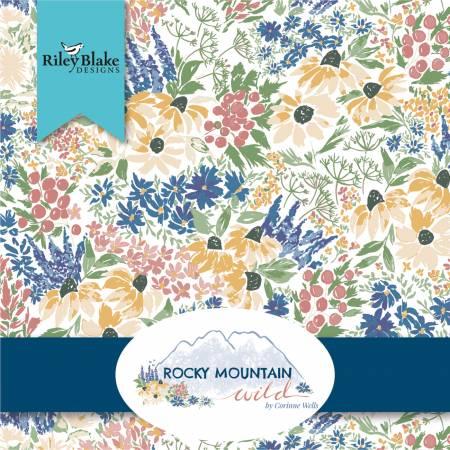 Rocky Mountain Wild 10in Squares, 42pcs, 3 bundles/pack/Riley Blake Designs