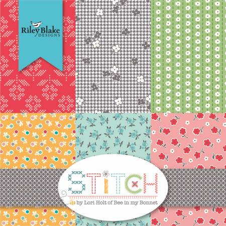Stitch by Lorie Holt 10in Squares, 42pcs