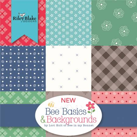 Bee Basics, 10in squares