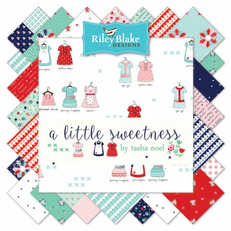 A Little Sweetness - 10 Squares - 42 Pcs - Tasha Noel