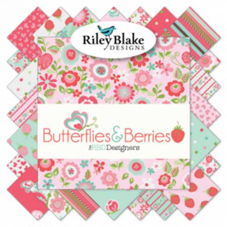 Butterflies 10 Inch Stackers 42 Pcs/bundle, 3 bundles per pack
