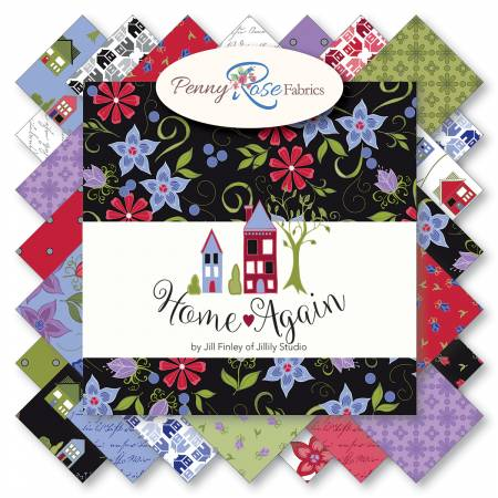 Penny Rose Home Again 10in Squares