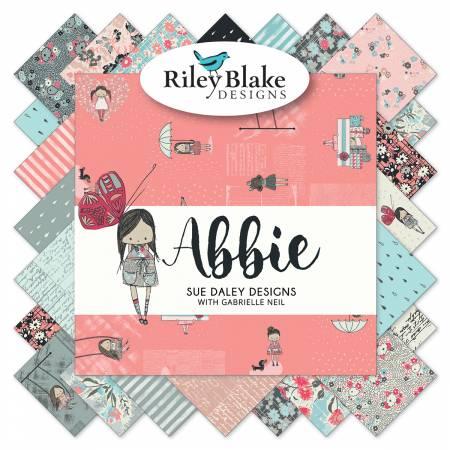 Riley Blake Abbie 10 Squares  - 42 pieces