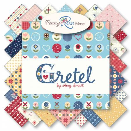 Gretel 10in Squares, 42pcs,