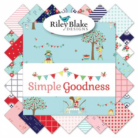 Simple Goodness 10in Squares, 42pcs,