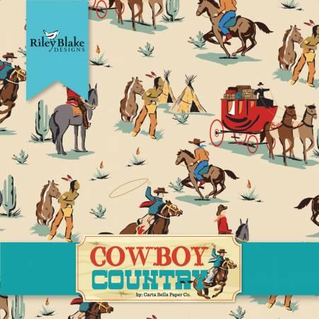 Riley Blake Cowboy Country Layer Cake