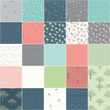 Fairy Edith 10 Squares (Amanda Castor) 42 pcs