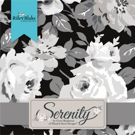 10in Squares Serenity, 42pcs, 3 bundles per pack