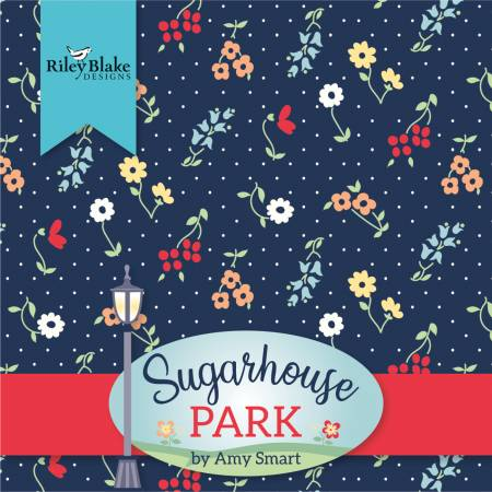 10in Squares Sugarhouse Park, 42pcs