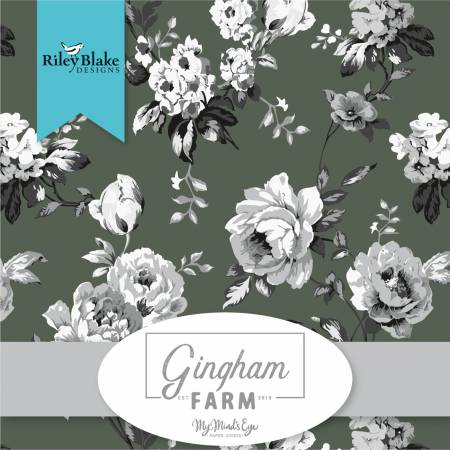 10in Squares Gingham Farm