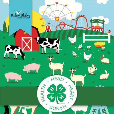 4-H, 10in Squares,