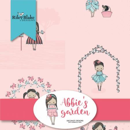 Abbies Garden 10in Squares, 42pcs, 3 bundles/pack/Riley Blake Designs
