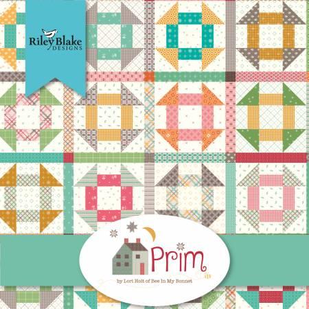 Prim 10in Squares, 42pcs