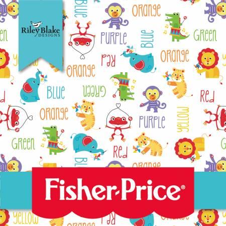 Fisher-Price 10in Squares, 42pcs