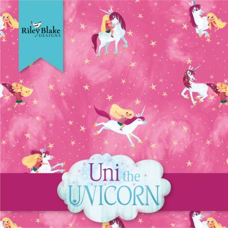 10in Squares Uni the Unicorn, 42pcs