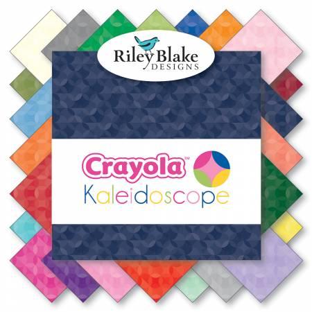 Kaleidoscope 10in Squares, 42pcs, 3 bundles/pack