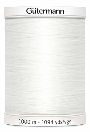 Sew-all Polyester All Purpose Thread 1000m/1094yds White