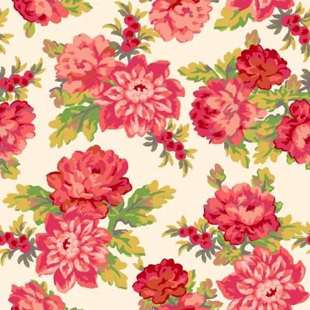 Sweet Beginnings - Cream Focal Floral