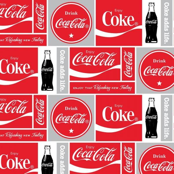 Coca-Cola Logo in a Box