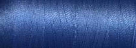Super Bright Polyester Embroidery Thread 2-ply 40wt 1100yds China Blue