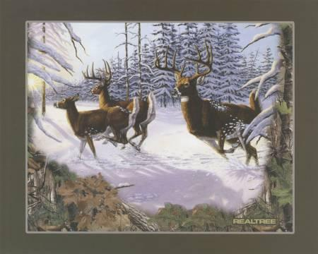 Realtree Running Deer 36 Panel