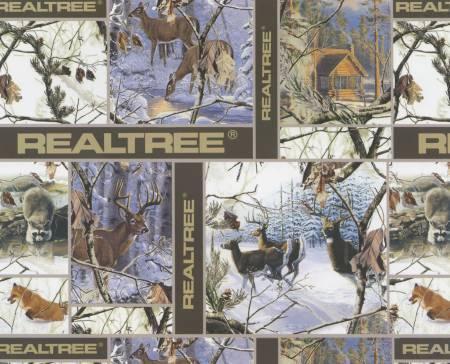 Realtree Winter Blocks